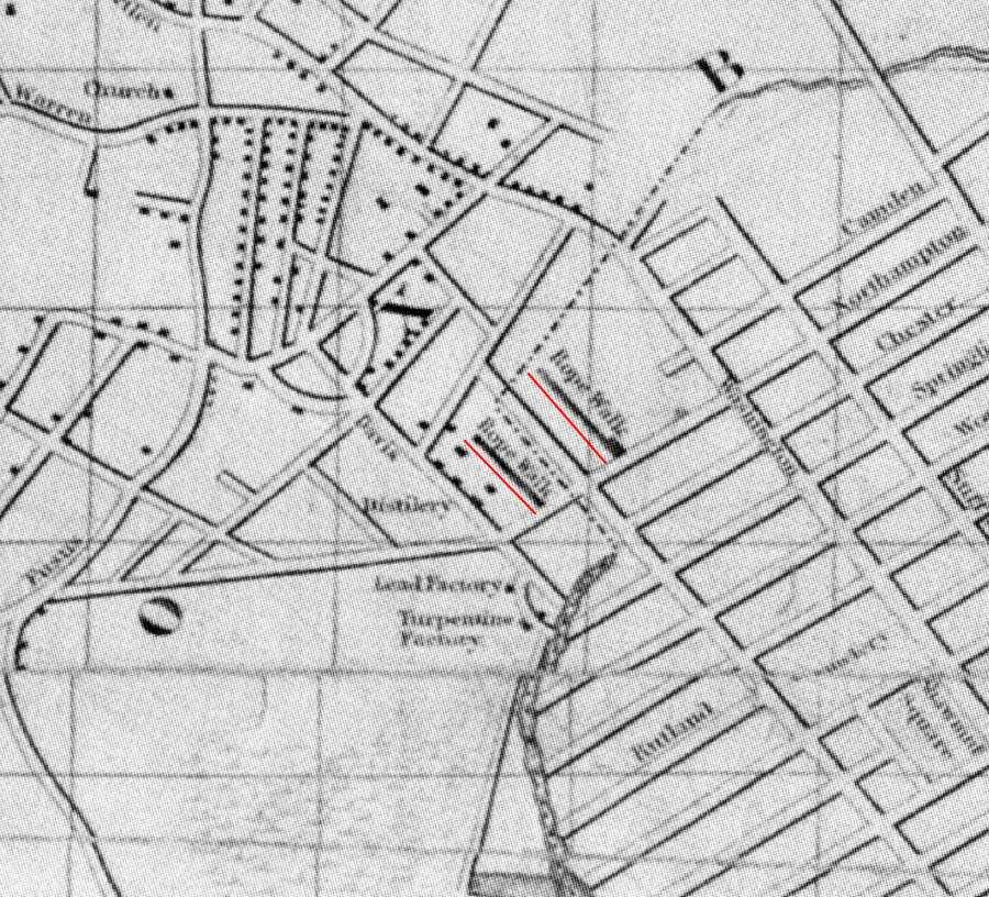1770 Boston Map Car Tuning